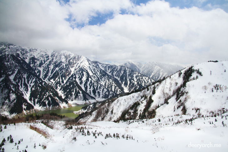 เที่ยวญี่ปุ่น กำแพงหิมะ (3) เส้นทางกำแพงหิมะ Tateyama Kurobe Alpine Route