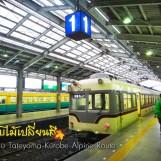เที่ยวญี่ปุ่น ใบไม้เปลี่ยนสี (4) เส้นทาง Tateyama-Kurobe Alpine Route