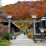 เที่ยวญี่ปุ่น ใบไม้เปลี่ยนสี (8) Nyuto Onsen-Tsurunoyu Onsen-Kuroyu Onsen
