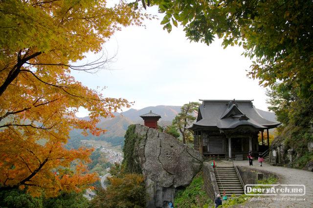 เที่ยวญี่ปุ่น ใบไม้เปลี่ยนสี (11) อ่าวมัตสึชิม่า Mutsushima วัด Yamadera