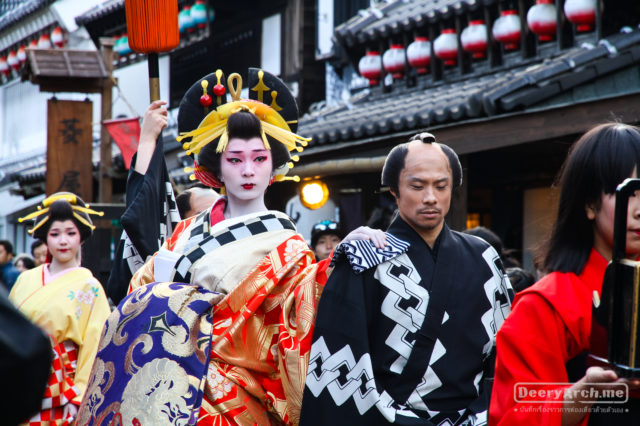 เที่ยวญี่ปุ่น ใบไม้เปลี่ยนสี (14) Edo WonderLand