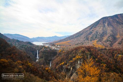 เที่ยวญี่ปุ่น ใบไม้เปลี่ยนสี (13) เที่ยว Nikko (Akechidaira-Ropeway, น้ำตก Kegon, ทะเลสาบ Chuzenji)