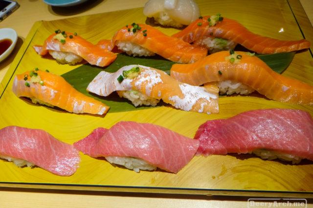Midori Sushi Shibuya สวรรค์ของเหล่า Sushi Lover